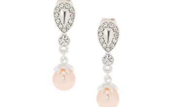 Go to Product: Pearl Clip On Drop Earrings