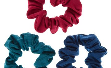 Go to Product: Small Retro Blue Hair Scrunchies - 3 Pack