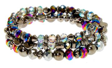Go to Product: Hematite Bead Stretch Bracelets - 3 Pack