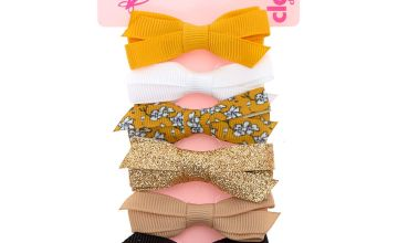 Go to Product: Claire's Club Summertime Hair Bow Clips - 6 Pack