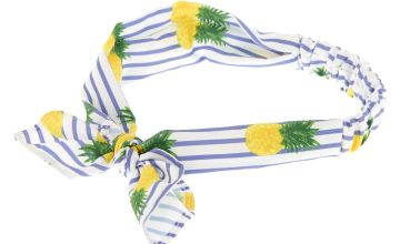 Go to Product: Pineapple Striped Headwrap - Yellow