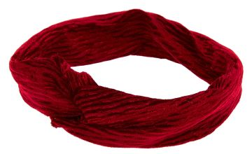 Go to Product: Velvet Twisted Headwrap - Burgundy