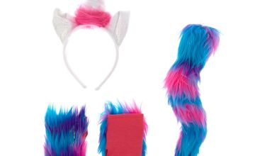 Go to Product: Furry Unicorn Costume Set - Pink and Purple, 3 Pack