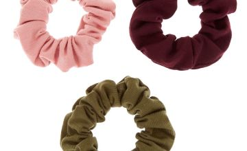 Go to Product: Small Cool Winter Hair Scrunchies - 3 Pack