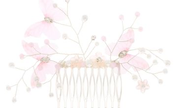 Go to Product: Butterfly Pearl Hair Comb - Pink