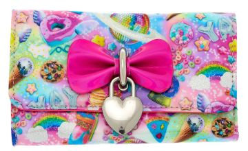 Go to Product: Cosmic Sweets Heart Charm Wallet - Pink