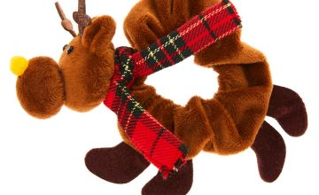 Go to Product: Reindeer Hair Scrunchie - Brown