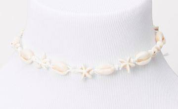 Go to Product: Cowrie Star Seashell Choker Necklace