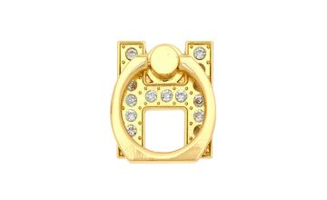 Go to Product: Gold Initial Ring Stand - H