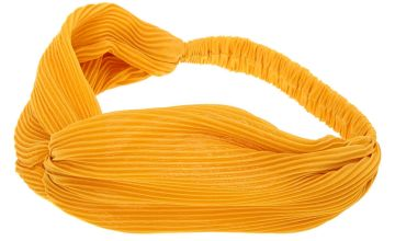 Go to Product: Pleated Twisted Headwrap - Mustard