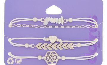Go to Product: Boho Dream Bracelets - White, 5 Pack