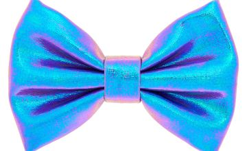 Go to Product: Mini Metallic Mermaid Hair Bow Clip - Lilac