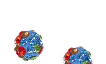 Go to Product: Multi- Tone Grey Fireball Stud Earrings