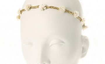 Go to Product: White Paper Flower Braided Headwrap