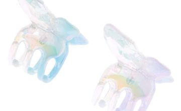 Go to Product: Iridescent Mini Butterfly Hair Claws - 2 Pack