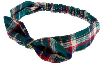 Go to Product: Green Plaid Knotted Bow Headwrap