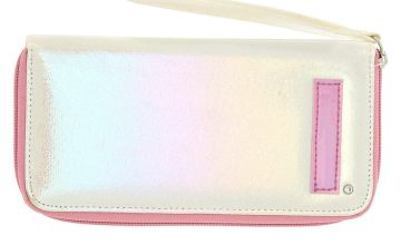 Go to Product: Pearlescent Initial Wristlet - I