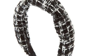 Go to Product: Black & White Tweed Knotted Headband