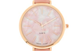 Go to Product: Marble Classic Watch - Pink