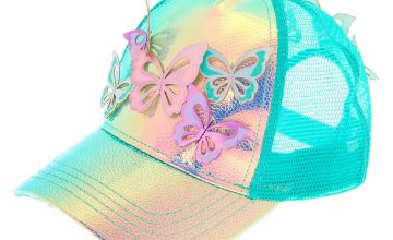 Go to Product: Holographic Butterfly Baseball Cap - Mint