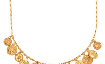 Go to Product: Gold Coin Statement Necklace