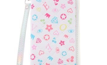 Go to Product: Signature Print Wristlet - White