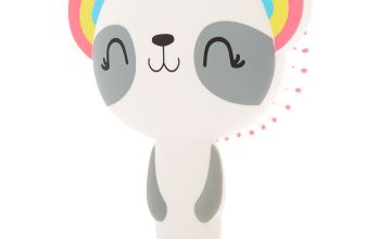 Go to Product: Rainbow Panda Paddle Hair Brush - White
