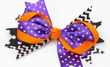 Go to Product: Halloween Ribbon Hair Bow Clip