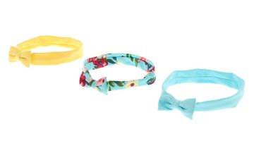 Go to Product: Claire's Club Floral Bow Headwraps - 3 Pack