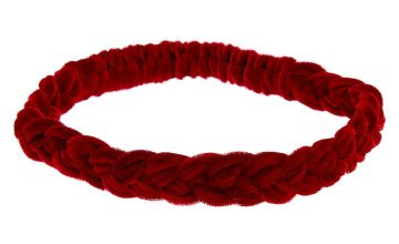 Go to Product: Suede Braided Headwrap - Burgundy