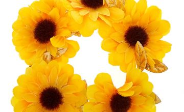 Go to Product: Sunflower Hair Bobble - Yellow