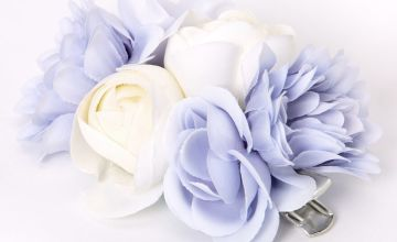 Go to Product: Bouquet Of Flowers Hair Clip - Blue