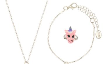 Go to Product: Claire's Club Unicorn Jewellery Set - Pink