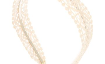 Go to Product: Crochet Headband - Ivory