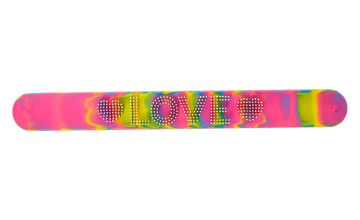 Go to Product: Rainbow Love Slap Bracelet