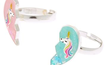 Go to Product: Best Friends Unicorn Heart Rings - 2 Pack
