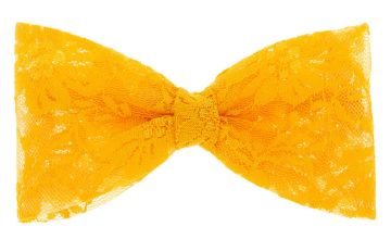 Go to Product: Lace Hair Bow - Orange