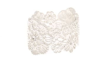 Go to Product: Silver Filigree Flower Ring
