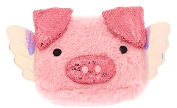 Go to Product: Poppy the Pig Soft Makeup Bag - Pink