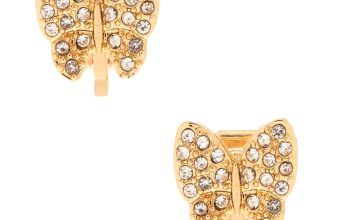 Go to Product: Gold Butterfly Clip On Earrings