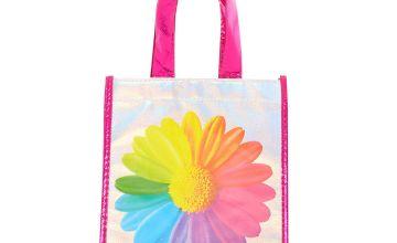 Go to Product: Rainbow Daisy Reusable Tote Bag