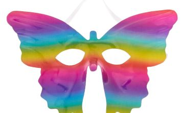 Go to Product: Rainbow Sparkle Butterfly Mask