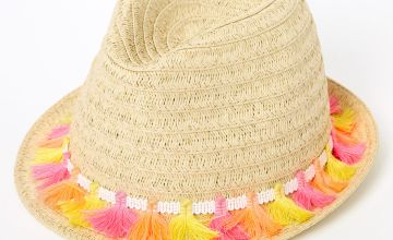 Go to Product: Neon Tassels Fedora Hat