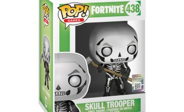 Go to Product: Fortnite Skull Trooper Vinyl Figure - Black