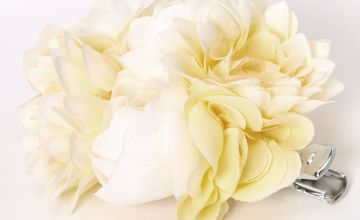 Go to Product: Bouquet Of Flowers Hair Clip - Yellow