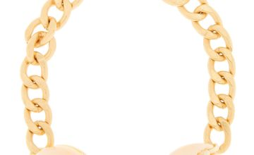 Go to Product: Gold Cowrie Shell Chain Bracelet - Ivory