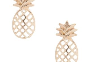 Go to Product: Rose Gold Pineapple Stud Earrings