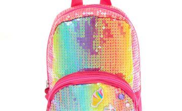 Go to Product: Claire's Club Rainbow Unicorn Sequin Backpack