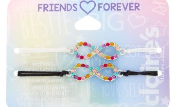 Go to Product: Rainbow Infinity Adjustable Friendship Bracelets - 2 Pack