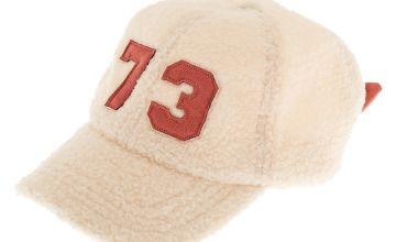 Go to Product: Sherpa Varsity Baseball Cap - Ivory